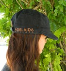 Adelaida Field Cap Black